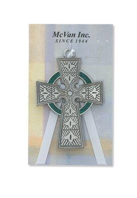 Celtic Cross Crib Medal