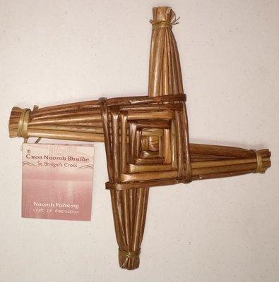 Handmade Saint Brigid's Cross - Large