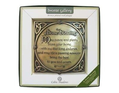 A Home Blessing Plaque