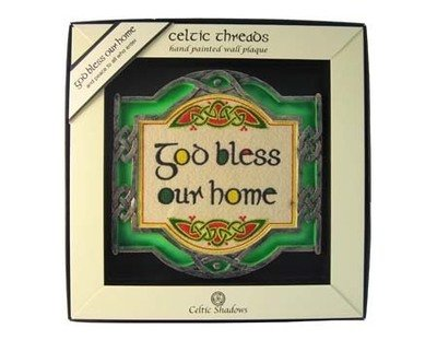 God Bless Our Home Plaque