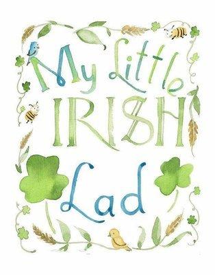 My Little Irish Lad Framed Print