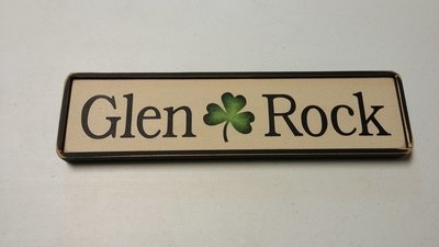 Handcrafted Glen Rock Sign