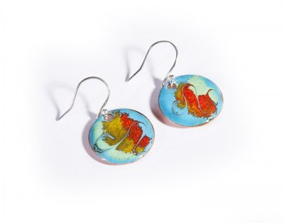 Small Drop Earrings - Turquoise