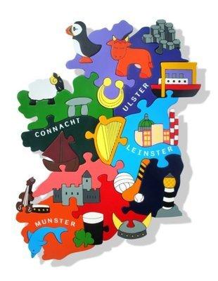 Ireland Jigsaw (Provinces)