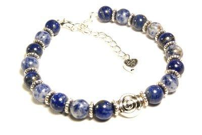 Sodalite and Lapis Lazuli Bracelet