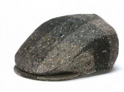 Hanna Hats - Vintage Cap - Brown Heather