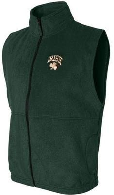 Irish Shamrock Fleece Vest