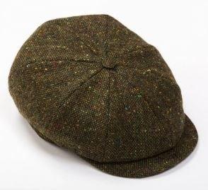 Tweed Cap 8 Piece Green