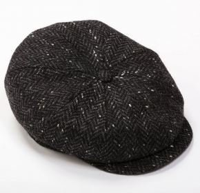 Tweed Cap 8 Piece Black
