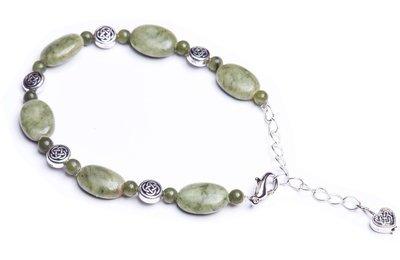 Connemara Two Tone Celtic Knot Bracelet