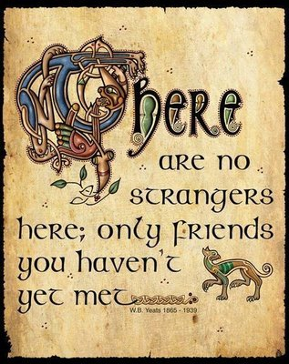 There Are No Strangers Here - Wall Hanging