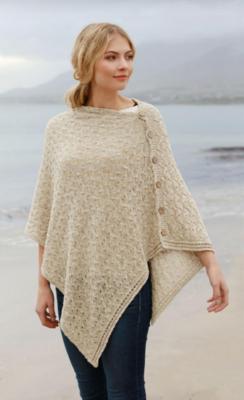 Cotton/Linen Poncho