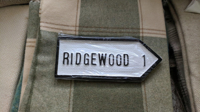 Irish Road Sign - Ridgewood