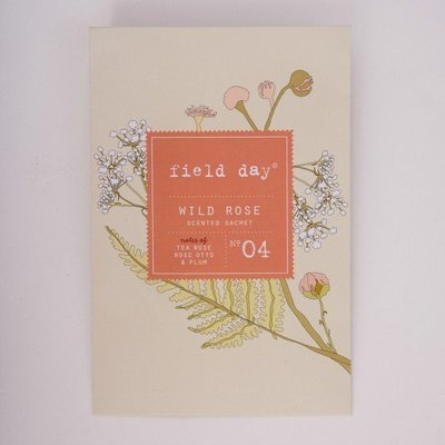Wild Rose Scented Sachet - by Field Day Ireland