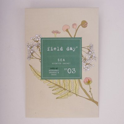 Sea Scented Sachet - by Field Day Ireland