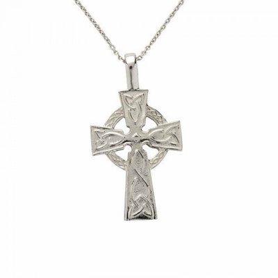Sterling Silver Celtic Cross - Large