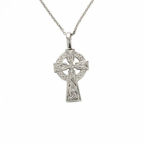 Sterling Silver Celtic Cross - Small