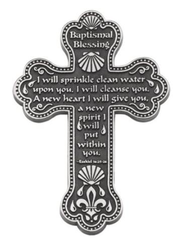 Baptismal Blessing Cross