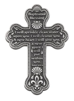 Baptismal Blessing Cross