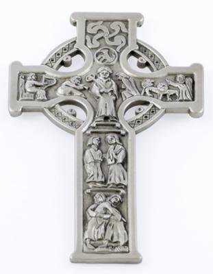 "8"" True Celtic Cross - Pewter Finish"