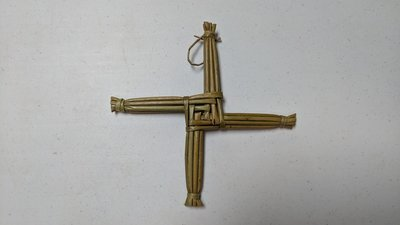 Handmade Saint Brigid's Cross - Small