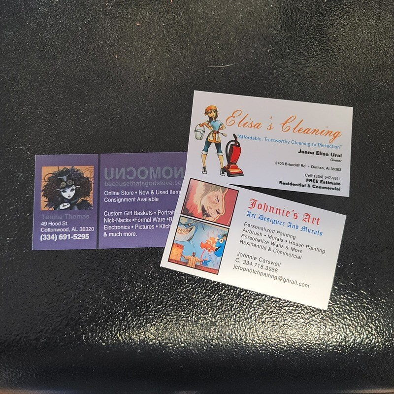 Basic Color Business Cards - Same Day Printing Available