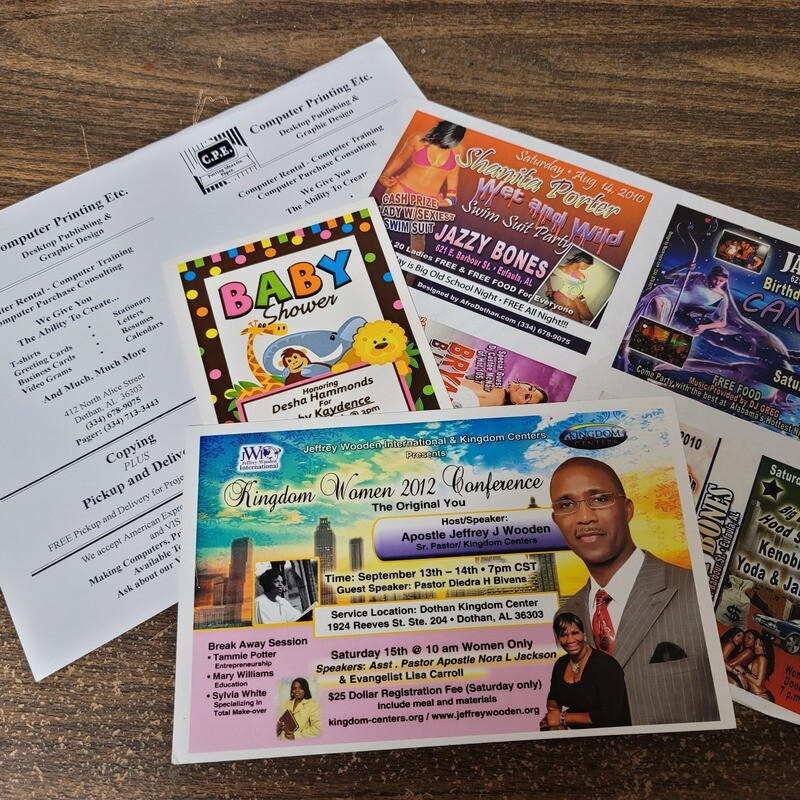 Flyer Packages