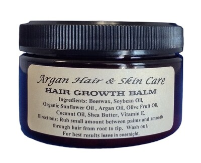 ARGAN GROWTH BALM 4OZ