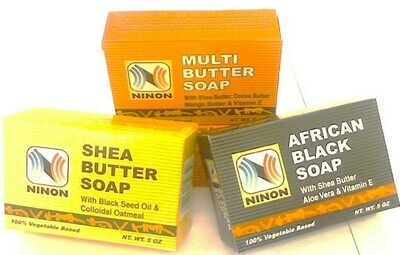 AFRICAN BLACK SOAP 5 OZ