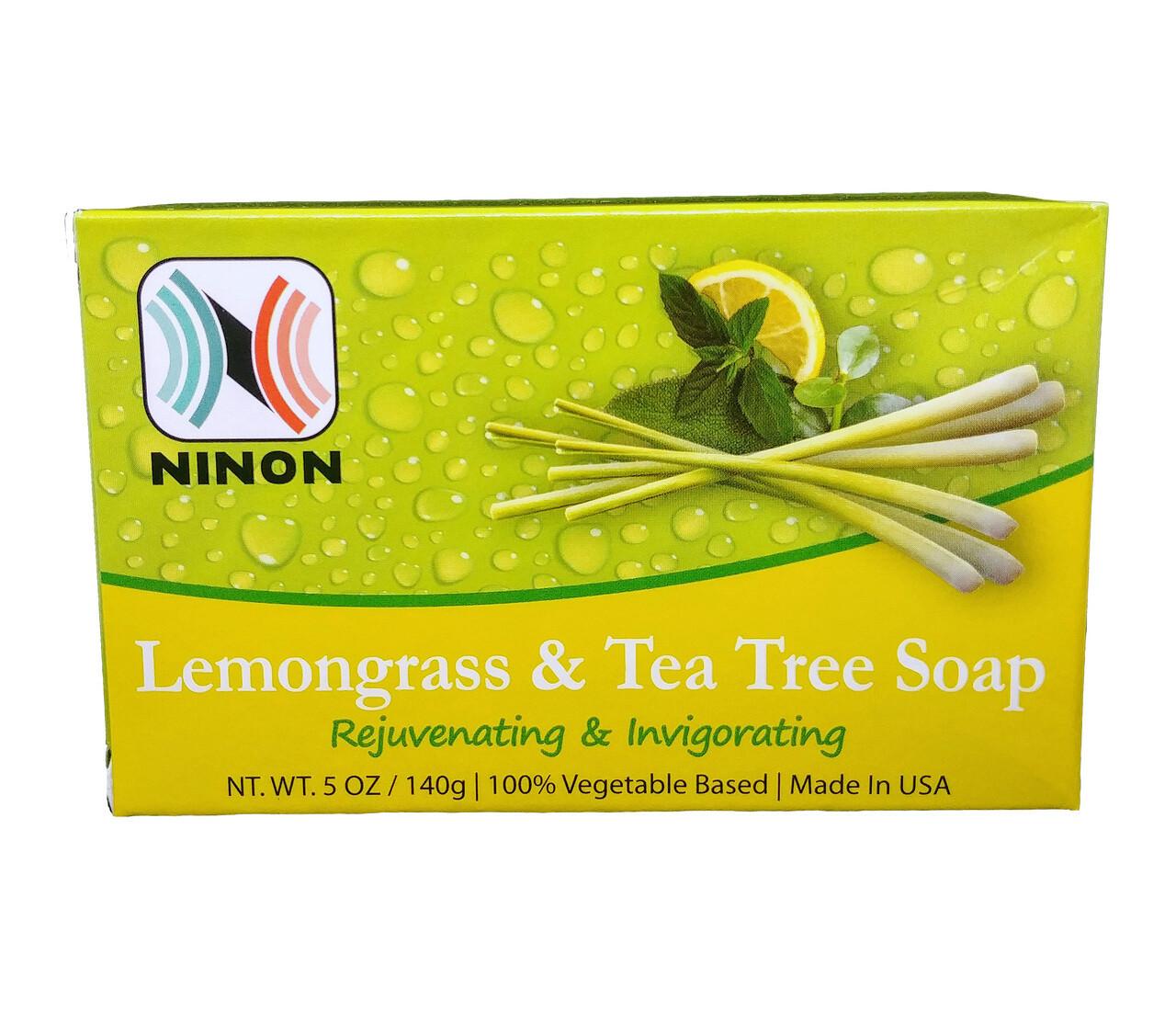 LEMONGRASS & TEA TREE SOAP