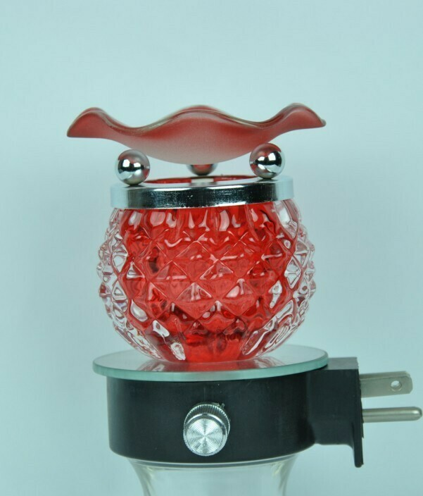 RED  WALL PLUG IN OIL BURNER