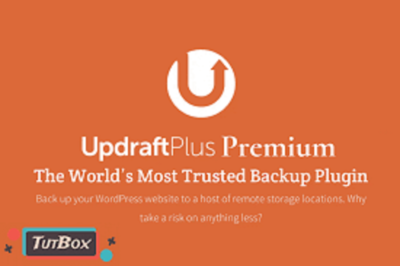 UpdraftPlus Premium WordPress Backup
