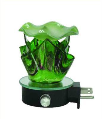 GREEN FORTUNE COOKIE WALL BURNER