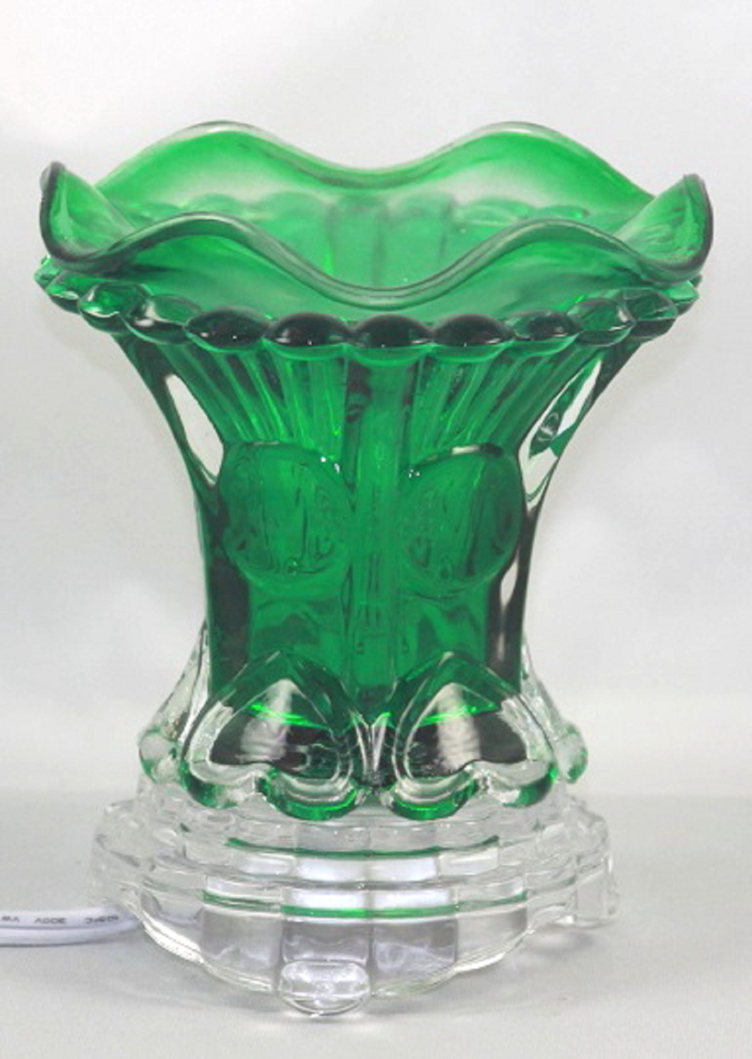 GREEN HEART ELECTRIC AROMATHERAPY FRAGRANCE OIL BURNER