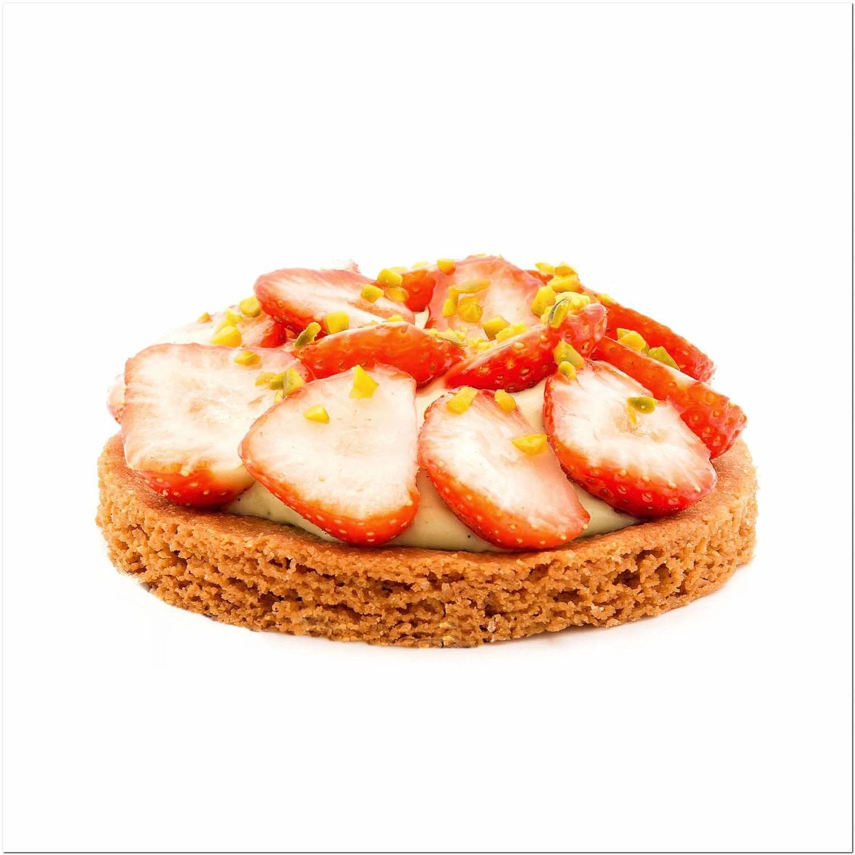 Sablé breton aux fraises