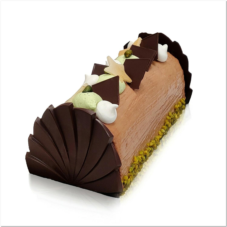 Bûche Chocolat - Pistache
