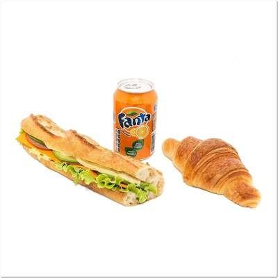Formule Express (sandwich + boisson + viennoiserie)
