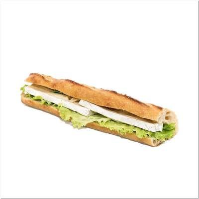 Sandwich Brie et salade
