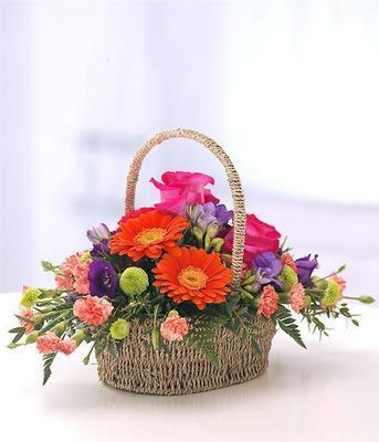 Vibrant Basket Design