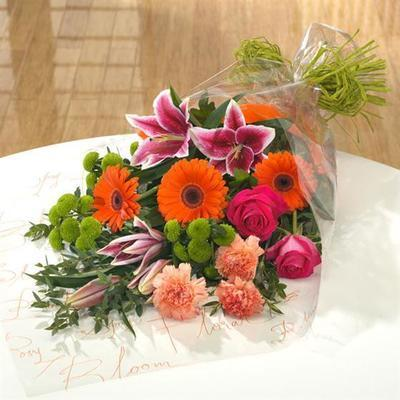 Vibrant Flat Bouquet