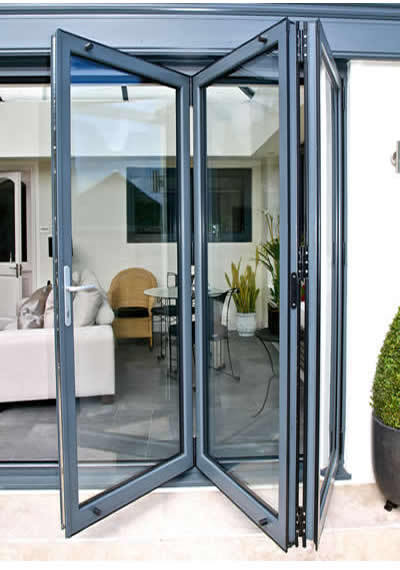 3 Panel Aluminium Bifolding Door