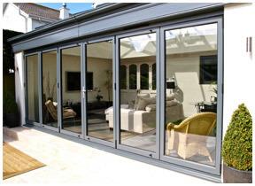 6 Panel Aluminium Bifolding Door