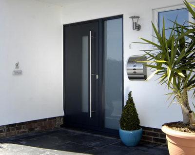 Aluminium Entrance - Kulon