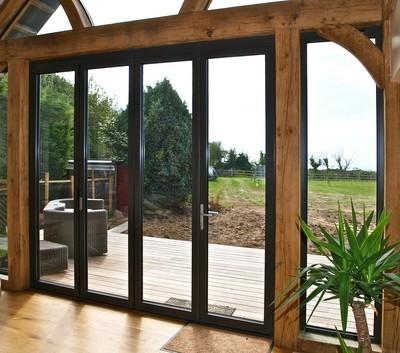 4 Panel Aluminium Bifolding Door