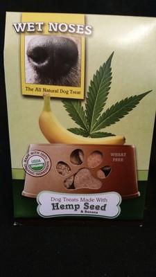 Wet Noses Treats--Hemp Seed & Banana