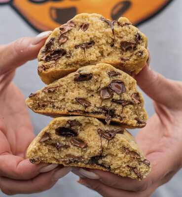 Classic chocolate chip 4x150gr (pre-order)