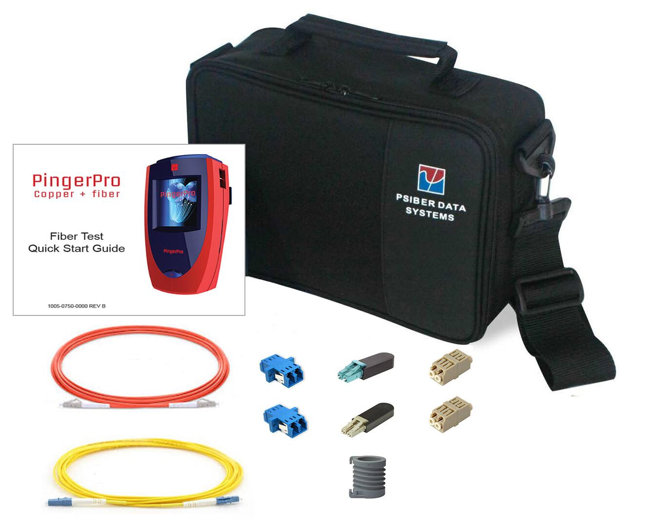 Fiber Test Kit for PingerPro Series (MM & SM)