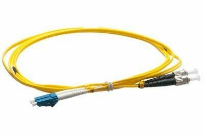 Cable, F/O, Single Mode, LC-ST, 1Meter, 9um/125um core