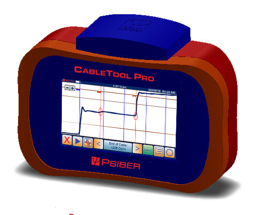 New CableTool Pro CP55 Graphical TDR Cable Meter