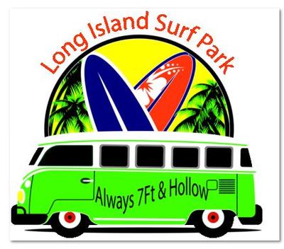 LI Surf Park Sticker